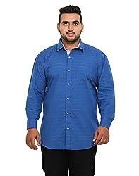 John Pride Men's Casual Shirt 1968444031_Blue_XX-Large