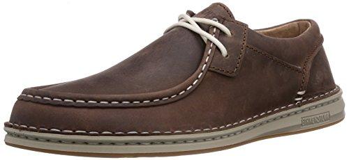 Birkenstock Shoes - Scarpe basse stringate Pasadena, Uomo, Marrone (Braun (Middle Brown)), 44