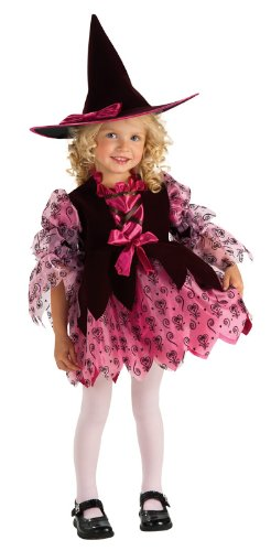 Rubie's Cute As You Can Be Chocolate Witch Toddler Costume