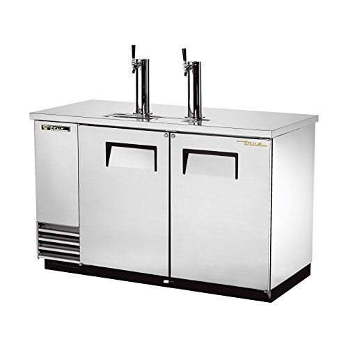 True Food Service Equipment Tdd-2-S Draft Beer Cooler, (2) Keg Capacity, S/S Counter Top, Stainless front-54652