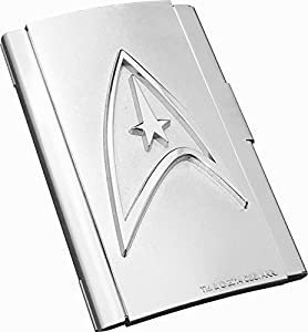 Star Trek Command Card Case, Silver