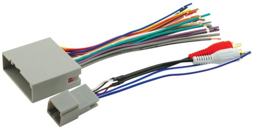 Scosche Radio Wiring Harness for 2003 - Up Select Ford Harness for Audiophile Sound Systems