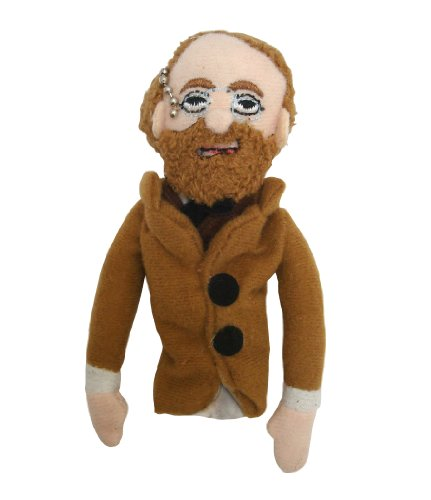 Anton Chekhov Finger Puppet and Refrigerator Magnet - By The Unemployed Philosophers Guild