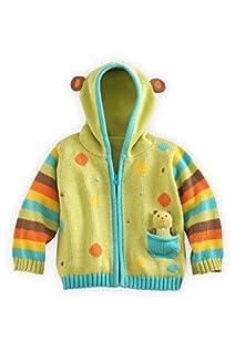 Joobles Fair Trade Organic Baby Cardigan Sweater - Huggy Bear