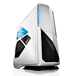NZXT Phantom 820 Full Tower Chassis with RGB Color Changing Lights and Fan Control CA-PH820-W1, White