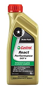 Castrol 15037E Liquide de frein React Performance Dot 4 1 l