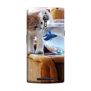 iShell Premium Printed Mobile Back Case Cover With Full protection For Oppo Find 7 (Designer Case)