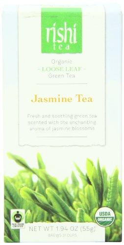 Rishi Tea Jasmine Tea, 1.94 Ounce