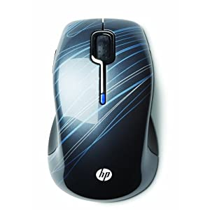 HP Wireless Comfort Mobile Mouse,HDX Mouse-  Titanium