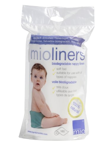 Bambino Mio Bio Liners - 160 Sheet Pack