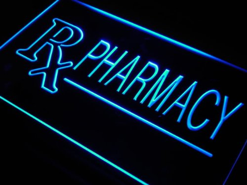 Adv Pro J939-B Rx Pharmacy Drug Stores Shops Neon Light Sign