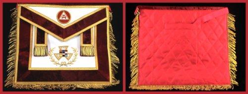 Past High Priest York Rite Freemason Masonic Apron (York Rite Apron compare prices)