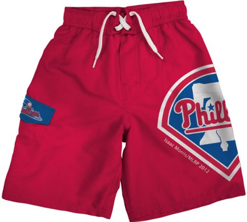 Philadelphia Phillies Youth Red Board Shorts at Amazon.com