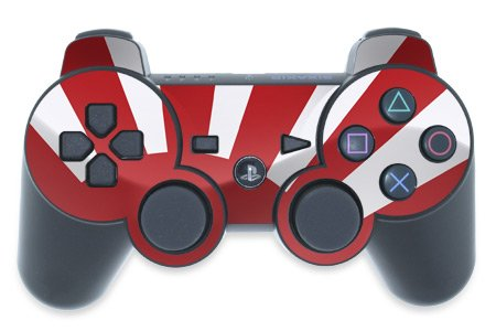 Mygift Nisshoki Design Ps3 Playstation 3 Controller Protector Skin Decal Sticker