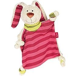 sigikid, Mädchen, Schnuffeltuch Hase, Rosa/Pink, 40594