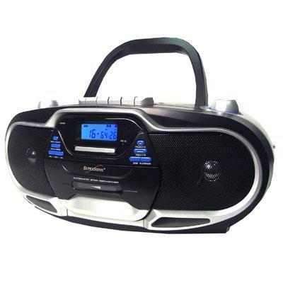 Portable MP3/CD Cassette AM/FM