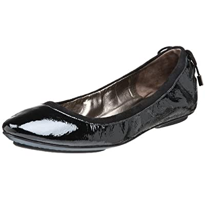 Maria Sharapova Collection by Cole Haan Women's Air Bacara  Flat,Black Patent,6.5 M