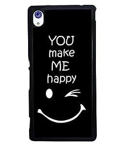 Printvisa 2D Printed Quotes Designer back case cover for Sony Xperia M4 Aqua - D4290
