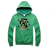 Minecraft Creeper応援  ペアルック 男女兼用 パーカー スウェット  スポーツウエア [並行輸入品]