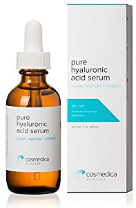 Best-Selling Hyaluronic Acid Serum for Skin-- 100% Pure-Highest Quality, Anti-Aging Serum-- Intense Hydration + Moisture, Non-greasy, Paraben-free, Vegan--Best Hyaluronic Acid for Your Face (Pro Formula)