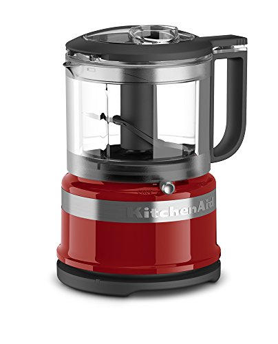 KitchenAid KFC3516ER 3.5 Cup Mini Food Processor, Empire Red (Kitchen Aid Food Processor Mini compare prices)