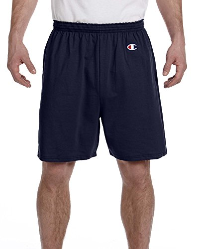 Champion in cotone-Pantaloncini da palestra blu navy Medium