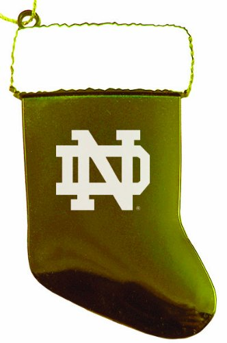 University of notre dame chirstmas holiday stocking for Notre dame home decor