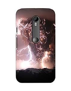 Mobifry Back case cover for Motorola Moto G 3rd generation Mobile (Printed design)