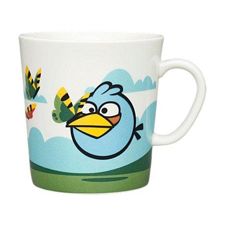 Arabia Angry Birds Coloured Coffee Or Tea Cup Mug 400Ml/13.5Fl Oz (The Blues)