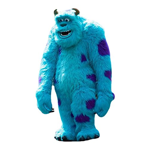 [Monsters, Inc. Sully James P Sullivan Mascot Costume Cartoon Character Adult Sz Longteng(TM)] (Sully Monsters Inc Costume)