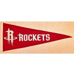 Houston Rockets Traditions pennant by Winning Streak