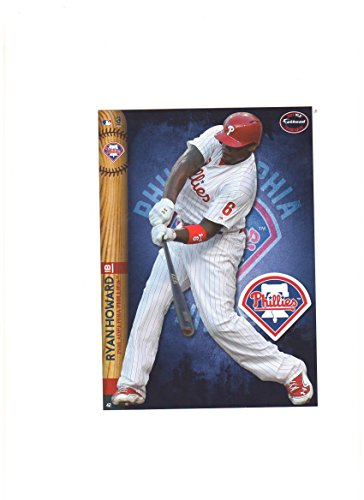 Philadelphia Phillies Mini Felt Pennant & Ryan Howard Mini Fathead 2014