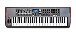 Novation Impulse 61 USB Midi Controller Keyboard, 61 Keys