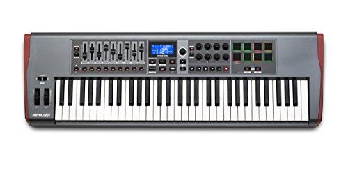 Novation-Impulse-61-Teclado-MIDI-USB-1022-cm-332-cm-10-cm-USB-Negro