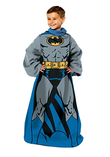 "Warner Brothers ""Batman, Being Batman"" Youth Comfy Throw"