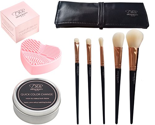 expert-makeup-brush-cleaner-duo-5-piece-rose-gold-professional-face-eye-make-up-brush-set-100-vegan-