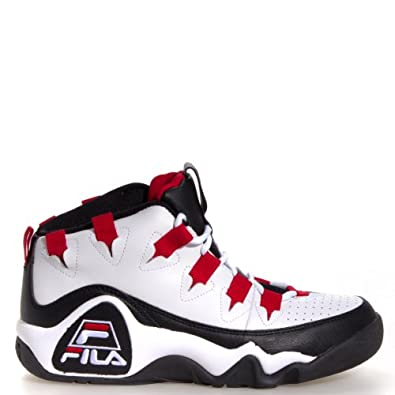 Buy Fila The 95 Retro Basketball Shoes - White Black Red - Mens by Fila