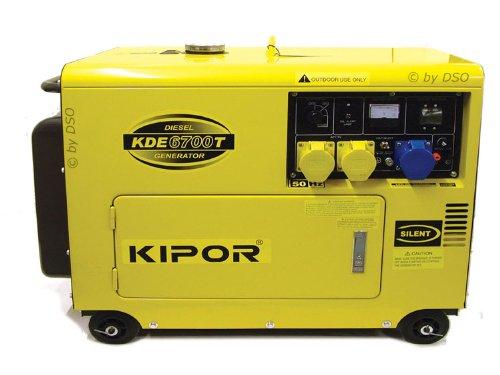 Kipor Super Silent Diesel Generator 5KVA 6700T