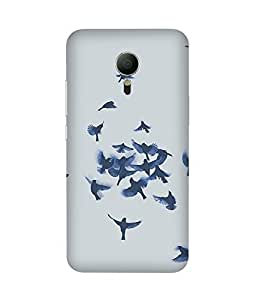 Blue Birds Meizu MX5 Case