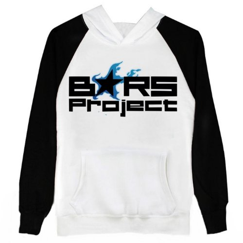 BRS Black Rock Shooter Cosplay Costume Anime Black White Hoodie Size M