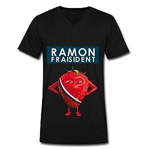 Spreadshirt tee shirt Ramon Fraisident pour Homme, noir, XXL