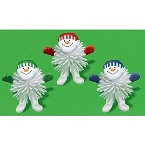 6 petits bonhommes de neige en plastique jouets d 39 enfant cuisine maison - Bonhomme de neige en gobelet plastique ...