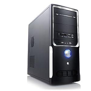 CSL Office PC Sprint 5231 - AMD 2x 3400MHz, 4GB RAM, 500GB HDD, Radeon HD 7480D, DVD