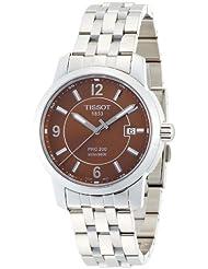 Tissot Men's T0144101129700 PRC 200 Brown Dial Bracelet Watch