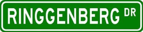 RINGGENBERG Street Sign ~ Personalized Family Lastname Sign ~ Gameroom, Basement, Garage Sign Novelty** ALUMINUM - Buy RINGGENBERG Street Sign ~ Personalized Family Lastname Sign ~ Gameroom, Basement, Garage Sign Novelty** ALUMINUM - Purchase RINGGENBERG Street Sign ~ Personalized Family Lastname Sign ~ Gameroom, Basement, Garage Sign Novelty** ALUMINUM (The Lizton Sign Shop, Home & Garden,Categories,Patio Lawn & Garden,Outdoor Decor)