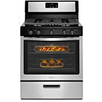 Whirlpool WFG505M0BS 5.1 cu. ft. Gas Range in Stainless Steel