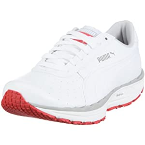 Puma Women's Bodytrain L/S Wns White/Gry/Violet/Red Trainer 185711-03 3.5 UK