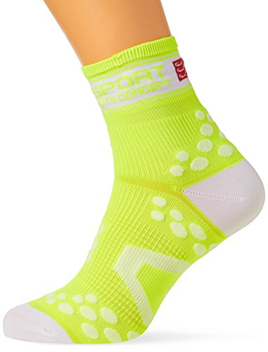 Calze compressione Compressport Proracing Run,Giallo ,40/42 (T3)