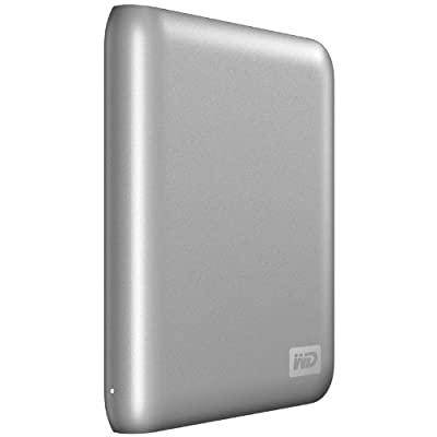 Western Digital My Passport Essential SE 1 TB USB 2.0 Portable External Hard Drive (Silver)