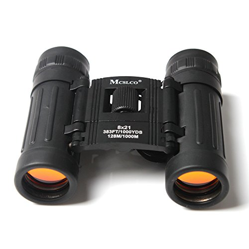 Boriyuan Pocket-Size 8X21 128M/1000M Outdoor Sports Hunting Binoculars Telescopes